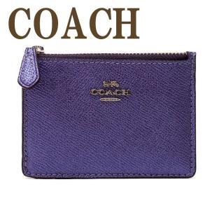 コーチ COACH 財布 キーケース キーリング コインケース メンズ レディース 21072SVOCP  ネコポス|zeitakuya