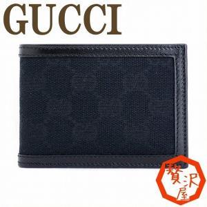 グッチ 二つ折り財布 メンズ GUCCI GG 233157 F4C7R 1000