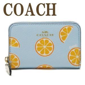 コーチ COACH 財布 小銭入れ カードケース コインケース みかん オレンジ フルーツ 2360IMR3Q  ネコポス|zeitakuya