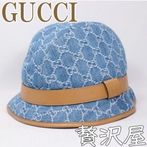 グッチ GUCCI 帽子 ハット レディース 女性用 GGデニム GUCCI 258265-FQY1G-8692|zeitakuya