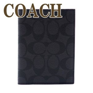 コーチ COACH メンズ パスポートケース レザー シグネチャー 26074N3A|zeitakuya