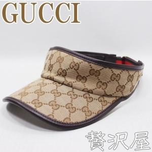 グッチ GUCCI 帽子 サンバイザー 新作 GUCCI 262020-FFKPG-9791|zeitakuya