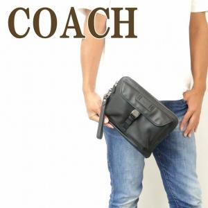 コーチ COACH バッグ メンズ セカンドバッグ クラッチバッグ ポーチ セカンドポーチ レザー ブラック 黒 2812QBBK|zeitakuya