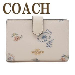 コーチ COACH 財布 レディース 二つ折り財布 レザー フローラル 花柄 2885IMR2J|zeitakuya