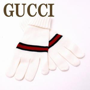 グッチ GUCCI グローブ 手袋 レディース ウール100% 294732-4G206|zeitakuya