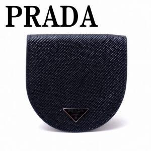 プラダ PRADA コインケース 小銭入れ メンズ 小物入れ NERO 黒 サフィアーノレザー 2MM788-2E3E-F0002|zeitakuya