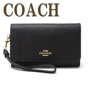 コーチ COACH ポーチ ハンドポーチ リストレット 財布 二つ折り リストレット ブラック黒 30205IMBLK|zeitakuya