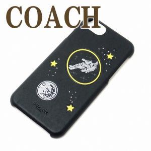 コーチ COACH iPhone8 7 6S ケース カバー アイフォン メンズ NASA アポロ 30813LPP|zeitakuya
