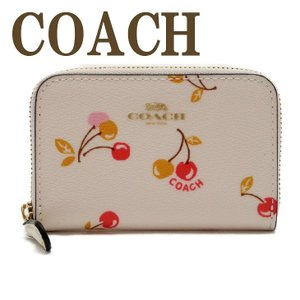 コーチ COACH 財布 小銭入れ カードケース コインケース チェリー 31900IMCAH  ネコポス|zeitakuya