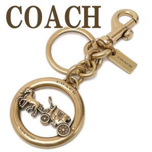 コーチ COACH キーホルダー キーリング ホースキャリッジ 32227GLD  ネコポス|zeitakuya