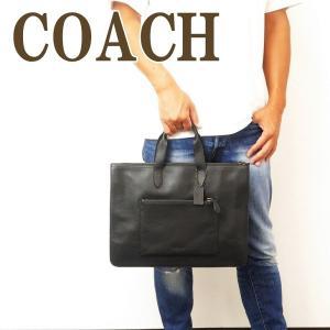 コーチ COACH バッグ メンズ ビジネスバッグ ブリーフケース トートバッグ 2way ブラック黒 32249QBBK|zeitakuya
