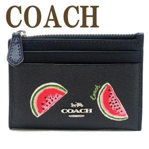 コーチ COACH 財布 レディース キーケース キーリング コインケース カードケース 定期入れ 小銭入れ レザー 3301SVQZT  ネコポス|zeitakuya