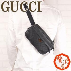 グッチ GUCCI バッグ メンズ ショルダーバッグ 斜めがけ ウエストバッグ GG 336672|zeitakuya