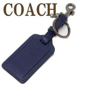 コーチ COACH キーリング メンズ キーホルダー ラゲッジタグ レザー 34586QBP5H  ネコポス|zeitakuya