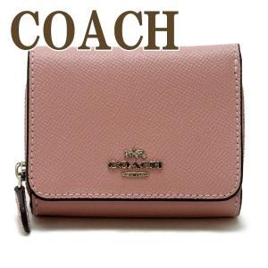 コーチ COACH 財布 三つ折り 折財布 ミニ レディース レザー 37968SVXR zeitakuya