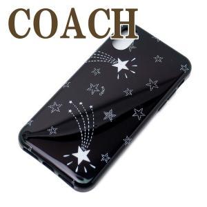 コーチ COACH iPhoneX ケース カバー アイフォン レディース スター 39476BLK|zeitakuya