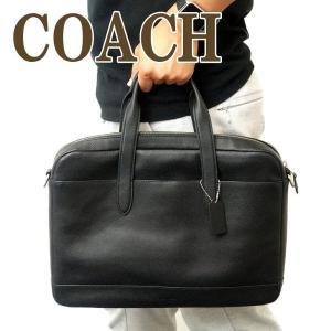 コーチ COACH バッグ メンズ ビジネスバッグ ブリーフケース トートバッグ 2way 斜めがけ レザー 41310NIBLK|zeitakuya