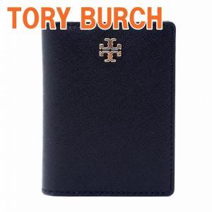 トリーバーチ TORYBURCH 二つ折り カードケース IDケース パスケース 定期入れ 50712-001 zeitakuya