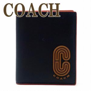コーチ 財布 メンズ 二つ折り財布 カードケース COACH レザー 5837QBF23  ネコポス|zeitakuya