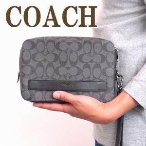 コーチ バッグ メンズ セカンドバッグ COACH クラッチバッグ 財布 セカンドポーチ 58541CQBK|zeitakuya
