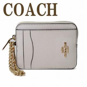 コーチ COACH カードケース コインケース 財布 レディース 定期入れ 小銭入れ レザー 6303IMCHK  ネコポス|zeitakuya