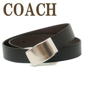 コーチ COACH ベルト メンズ レザー ブラック黒 64842AQ0|zeitakuya