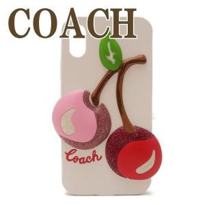 コーチ COACH iPhone X ケース カバー アイフォン レディース チェリー 65093CAH zeitakuya