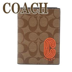 コーチ COACH メンズ パスポートケース レザー シグネチャー 655QBQ9J  ネコポス|zeitakuya