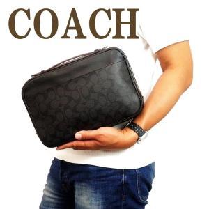 コーチ COACH バッグ メンズ セカンドバッグ クラッチバッグ 財布 セカンドポーチ シグネチャー 66554N3A|zeitakuya