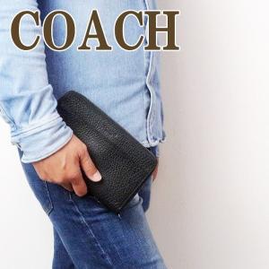 コーチ COACH 財布 メンズ セカンドバッグ ポーチ クラッチバッグ 長財布 パスポートケース 67624QBBK|zeitakuya