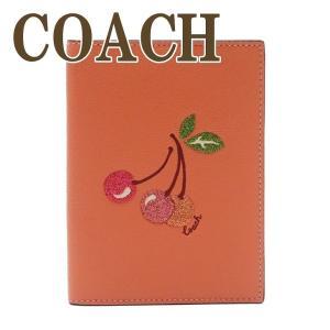 コーチ COACH レディース パスポートケース チェリー さくらんぼ 68621IMOSF|zeitakuya