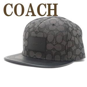 コーチ COACH 帽子 メンズ ぼうし キャップ ベースボールキャップ ハット つば付 ロゴ シグネチャー レザー 68861BKBK|zeitakuya