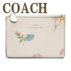 コーチ COACH 財布 キーケース キーリング コインケース 花柄 レディース 73355SVCAH  ネコポス|zeitakuya