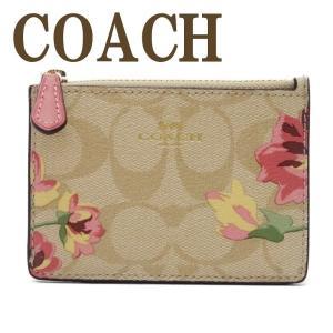 コーチ COACH 財布 キーケース キーリング コインケース レディース シグネチャー 花柄 73367IMOE3  ネコポス|zeitakuya
