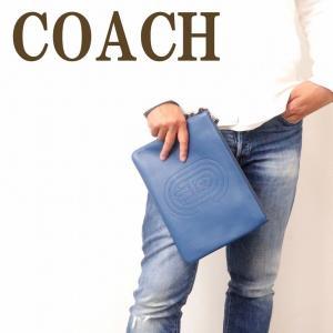 コーチ COACH バッグ メンズ セカンドバッグ クラッチバッグ ポーチ セカンドポーチ ロゴ 76233P2U|zeitakuya