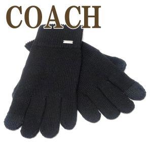 コーチ COACH グローブ 手袋 ニット スマホ対応 レディース 76490BLK  ネコポス|zeitakuya