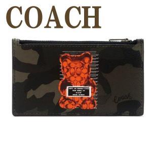 コーチ COACH カードケース コインケース IDケース パスケース 定期入れ 小銭入れ 迷彩 ベア 76859QBGRN  ネコポス zeitakuya