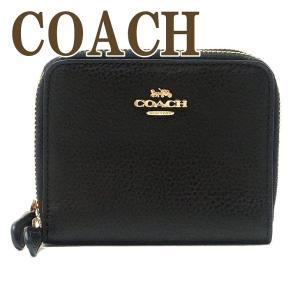コーチ 財布 COACH 二つ折り 財布 ダブルファスナー レディース ブラック 黒 76935IMBLK|zeitakuya