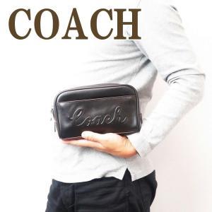 コーチ COACH バッグ メンズ セカンドバッグ クラッチバッグ セカンドポーチ ブラック黒 76982QBBK|zeitakuya
