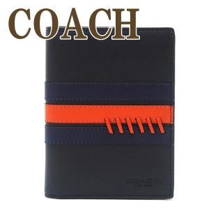 コーチ COACH メンズ パスポートケース 本革 レザー ステッチ ベースボール 78998QBP59  ネコポス|zeitakuya