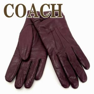 コーチ COACH グローブ 手袋 レザー レディース リボン 85229SVPM|zeitakuya