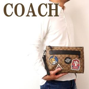 コーチ COACH バッグ メンズ セカンドバッグ クラッチバッグ ポーチ セカンドポーチ スターウォーズ 88114QBTN2|zeitakuya
