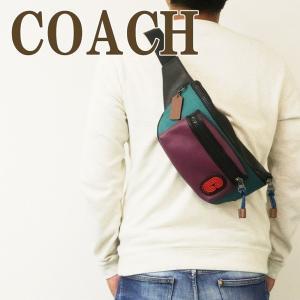 コーチ COACH バッグ メンズ ショルダーバッグ 斜めがけ ウエストバッグ ボディーバッグ ベルトバッグ レザー 89907QBQ9L zeitakuya