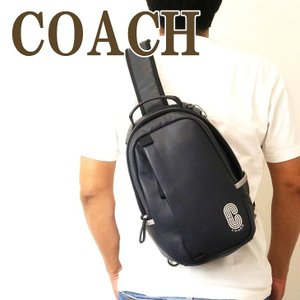 コーチ COACH バッグ メンズ ショルダーバッグ 斜め掛け ワンショルダー Cロゴ レザー 89910QBNI9|zeitakuya