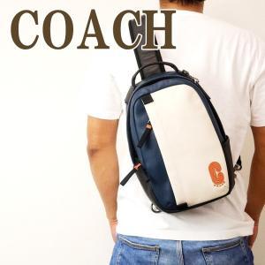 コーチ COACH バッグ メンズ ショルダーバッグ 斜め掛け ワンショルダー Cロゴ レザー 89912QBQ6O|zeitakuya