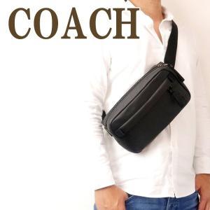 コーチ COACH バッグ メンズ ショルダーバッグ 斜めがけ ウエストバッグ ボディーバッグ ベルトバッグ ブラック 黒 89917QBBK|zeitakuya