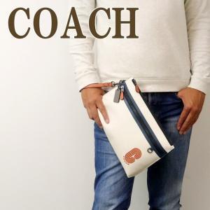 コーチ COACH バッグ メンズ セカンドバッグ クラッチバッグ ポーチ セカンドポーチ レザー 91269QBQLL zeitakuya