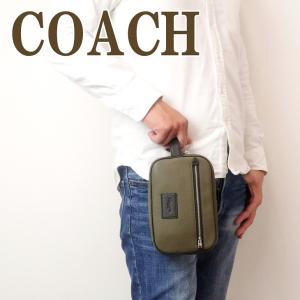 コーチ COACH バッグ メンズ セカンドバッグ ポーチ トラベルポーチ 91316QBPJR|zeitakuya