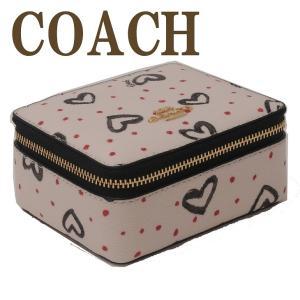 コーチ COACH ジュエリーボックス レディース ポーチ ケース ハート 91554IMQA2|zeitakuya