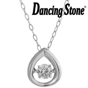 ダンシングストーン ネックレス ダイヤモンド 0.08ct K18 ホワイトゴールド GP-0424D-WG|zeitakuya